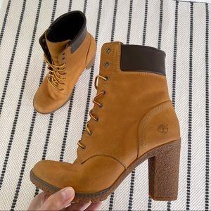 Timberland Tillston 6 Inch Wheat Boots Size 8